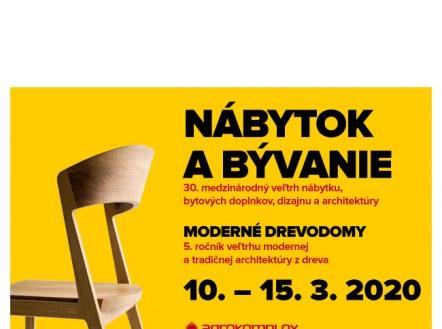 Picture for the news NÁBYTOK A BÝVANIE 2020